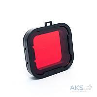 Подводный фильтр для GoPro HERO3+/HERO4 Red