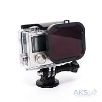 Aksline Подводный фильтр для GoPro HERO3+/HERO4 Red