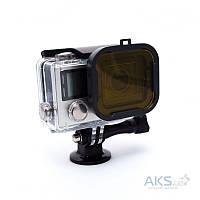 Подводный фильтр для GoPro HERO3+/HERO4 Yellow