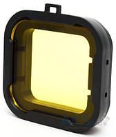 Aksline Подводный фильтр для GoPro HERO3+/HERO4 Yellow