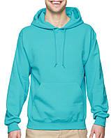 Худи Jerzees® NuBlend® Fleece Pullover Hood Scuba Blue