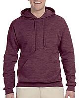 Худи Jerzees® NuBlend® Fleece Pullover Hood Vintage Heather Maroon