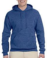 Худи Jerzees® NuBlend® Fleece Pullover Hood Vintage Heather Blue