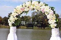 Аренда свадебных арок, прокат арки для росписи, свадебные фоны и ширмы, ажурный декор