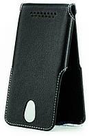 Чехол Status Side Flip Series Doogee Valencia 2 Y100 Plus Black Matte