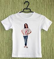 Детская футболка с фотографией.