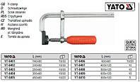 Струбцина кована ручка пластмасса l=160х80 мм YATO-6401
