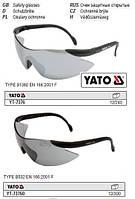 Очки окуляри захисні відкриті затемненіі YATO-73760