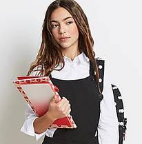 Школьные блузки, рубашки, поло для девочек