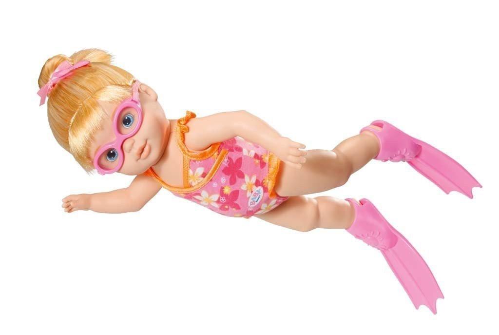 Кукла пупс Baby Born Беби Борн Интерактивная я умею плавать оригинальный Zapf Creation 818725