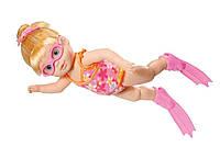 Интерактивная кукла пупс я умею плавать Беби борн оригинальный Zapf Creation Baby Born I Can Swim