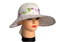Соломенная шляпа капор