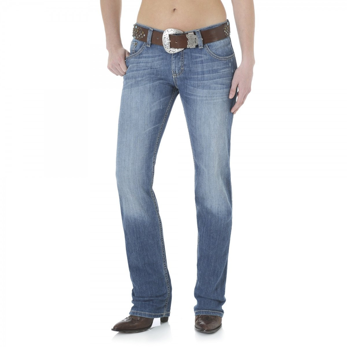 Джинсы Wrangler Rock 47 Boyfriend, Dusty Treasure*Уценка