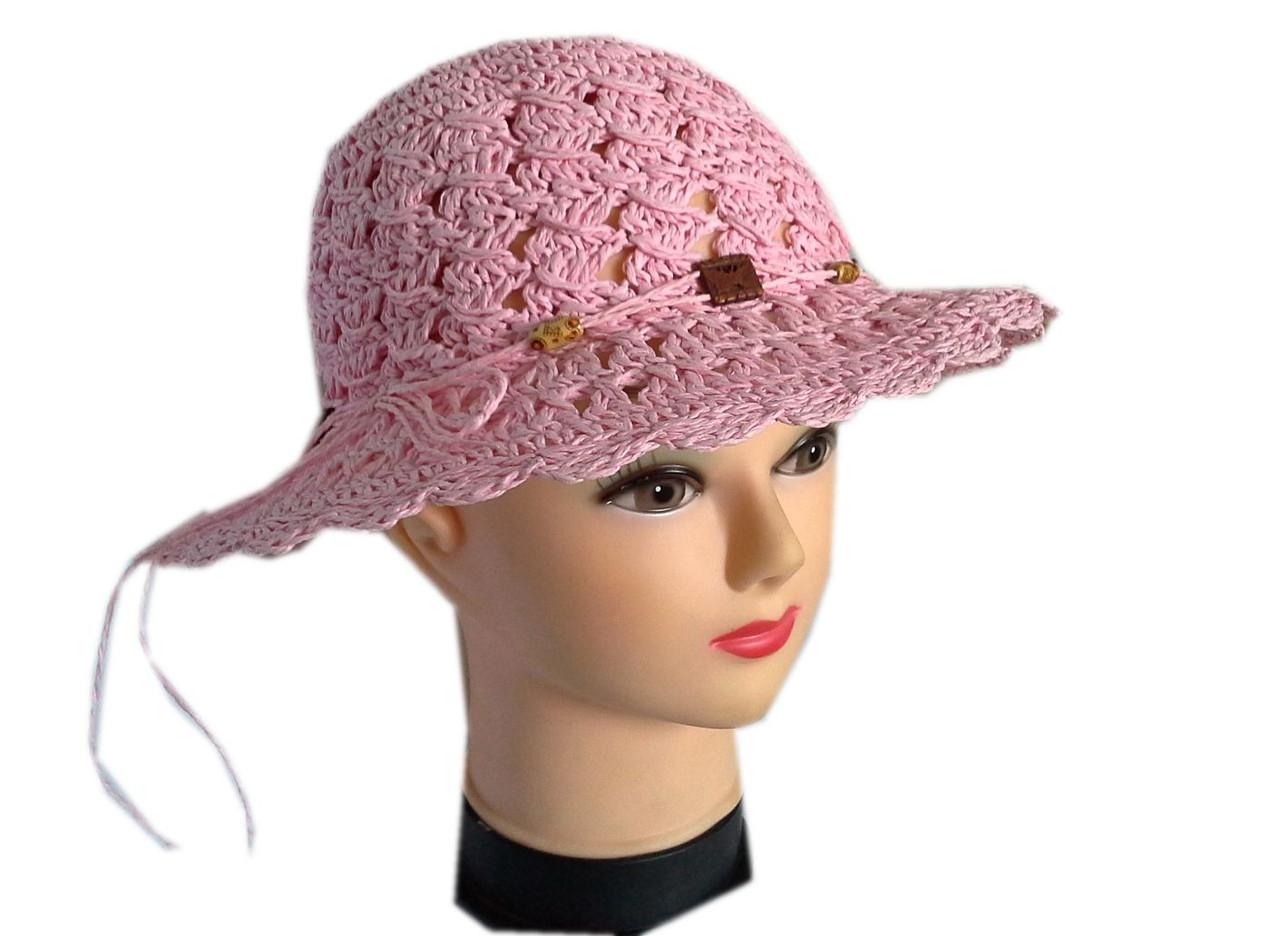 Женская соломенная шляпа