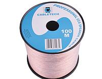 Акустический кабель CABLETECH 2х0,75mm CCA (100м)