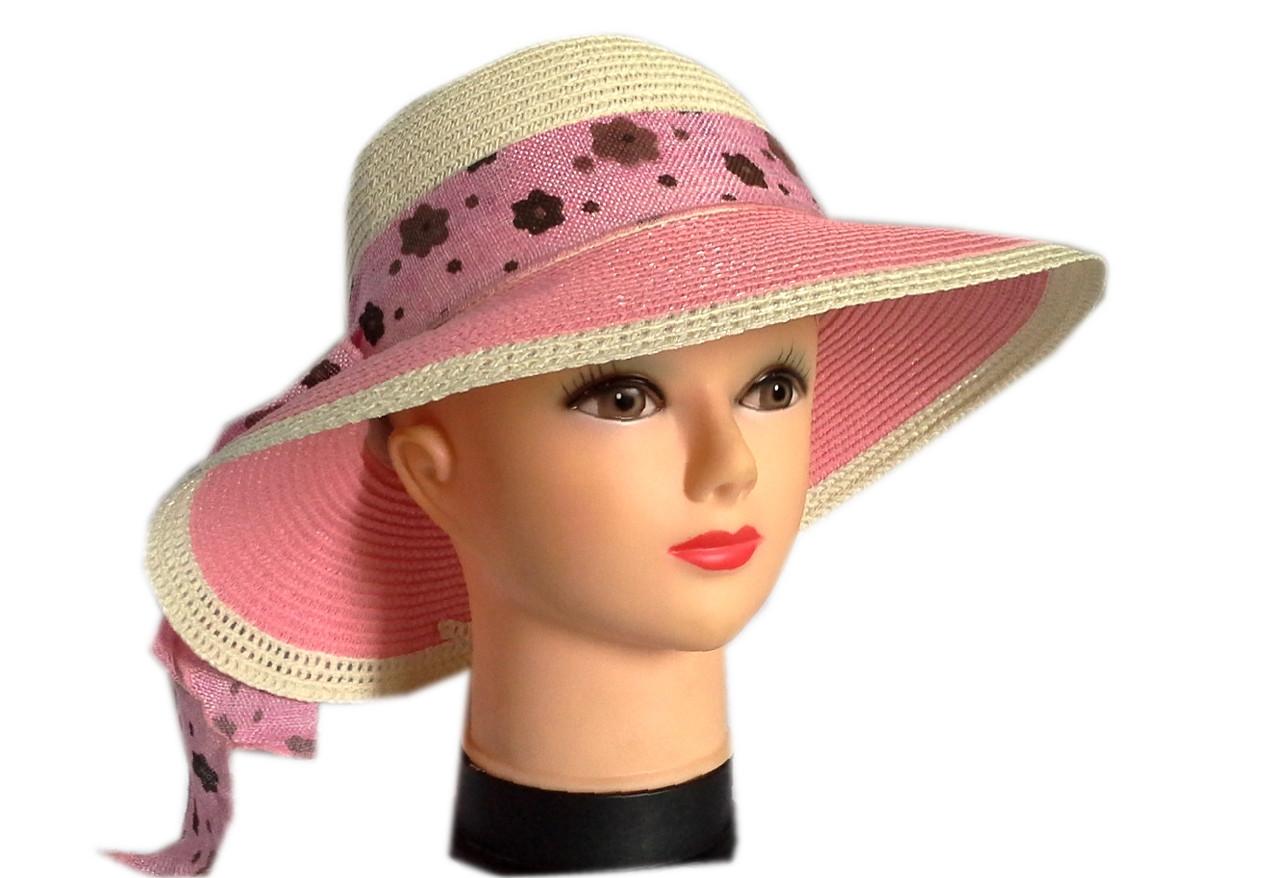 Женская шляпка среднее поле