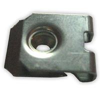 Зажим металлический под саморез 3,4x6,35x19,4