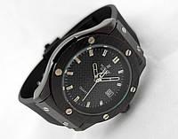 Женские часы HUBLOT - Big Bang каучуковый черный ремешок, цвет черный
