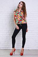 Красивая и стильная блуза из шелк шифона