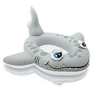 "Детский надувной плотик INTEX 59380 ""Акула"" (102х66 см), фото 1"