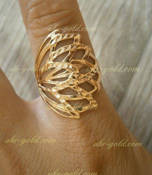 9571baff91aa Золотое кольцо женское без камней., цена 4 238,08 грн., купить в ...