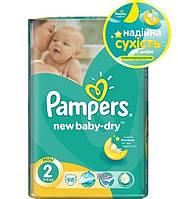 Подгузники Pampers New Baby-Dry Mini 2 (Памперс) 3-6кг №68