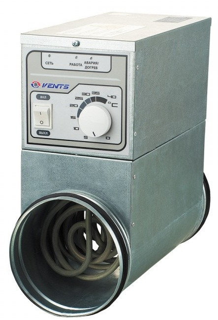 ВЕНТС НК-315-6,0-3 У - круглый электрический нагреватель