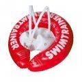 Круг для обучения плаванию Swimtrainer Красный от  3 месяцев до 4 лет.