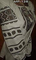 Женская блузка вышитая Украинским орнаментом