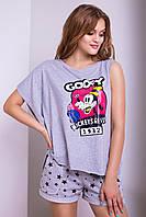 Стильная женская футболка Luzana -22224 (р.42-50)