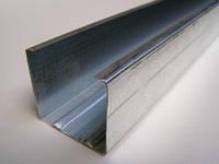 Профиль металический для гипсокартона UD 28 х 27 (0,45 мм x 3 м)