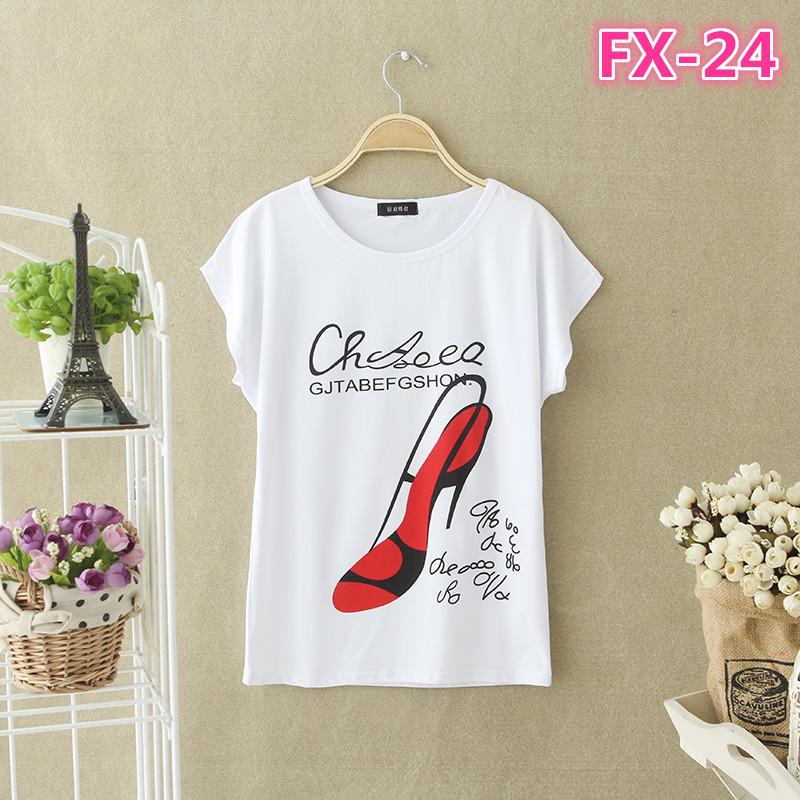 Женская футболочка 9 принтов СС6343