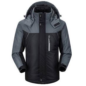 Мужская куртка серые рукава, фото 2