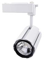 Светодиодный трековый светильник 10 Вт холодный белый 6500К, фото 1