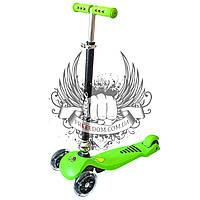 Самокат детский 3-х колёсный RuiTuo Зелёный