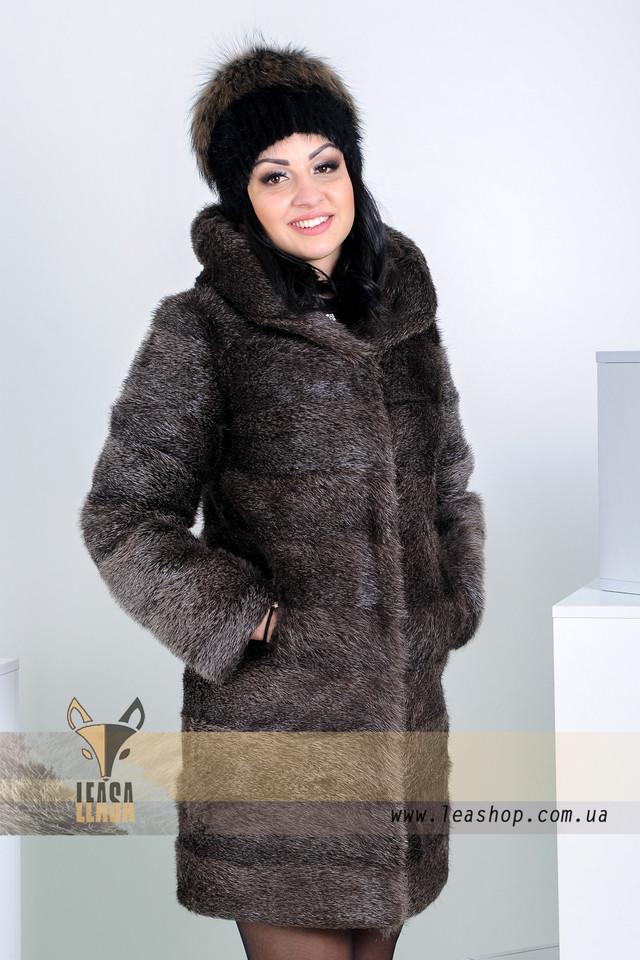 Женская шуба из нутрии от Харьковской меховой фабрики leashop.com.ua