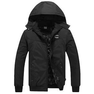 Мужская куртка черный цвет, фото 2