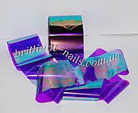 """Слюда """"Битое стекло"""" фиолетовый хамелеон"""