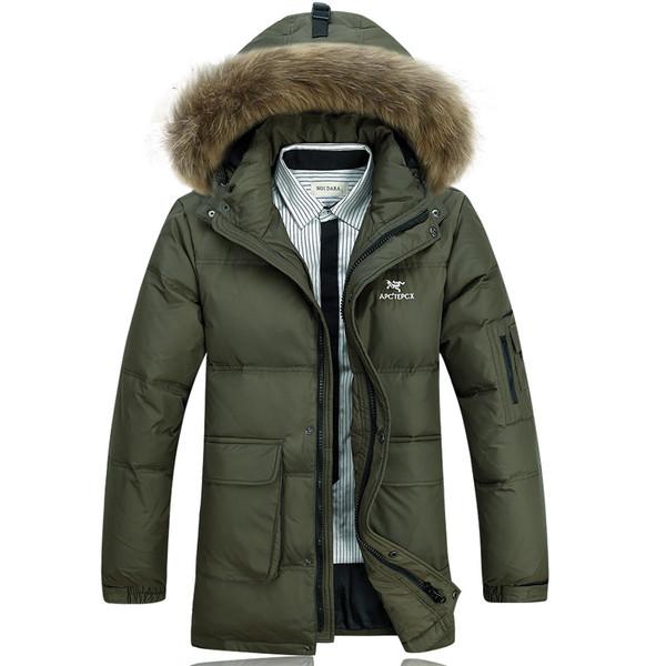 Мужская куртка парка 2 цвета