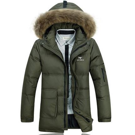 Мужская куртка парка 2 цвета, фото 2