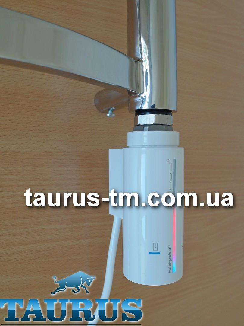 Стильний білий електротена Instal Projekt HOT 2 з сенсорним управлінням + таймер до 8 ч. LED-підсвічування. Польща