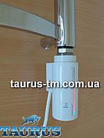 Стильный белый электроТЭН Instal Projekt HOT 2 с сенсорным управлением + таймер 8 ч. LED-подсветка. Польша