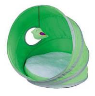 Домик для маленькой собаки Trixie Neva с игрушкой 38*40см зеленый/белый (36350)