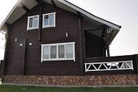 Внешняя отделка деревянных фасадов