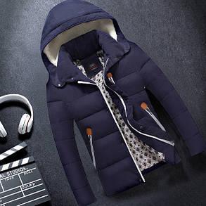 Мужская куртка 3 кармана на молнии, фото 2
