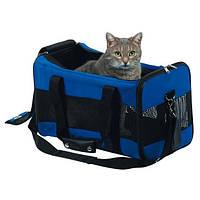 Сумка-переноска  с вентиляцией для собак и кошек до 9 кг trixie 48*27*25 см