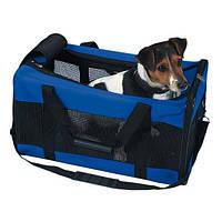 Сумка-переноска транспортная +вентиляция для собак и кошек до 11 кг trixie 55*30*30 см