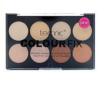 Палитра пудр для контурирования лица Technic Colour Fix Pressed Powder Contour Palette