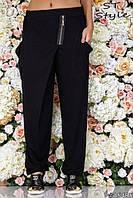 Модные женские штаны Батал