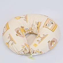 Подушка для кормления «Макошь» с наволочкой из бязи